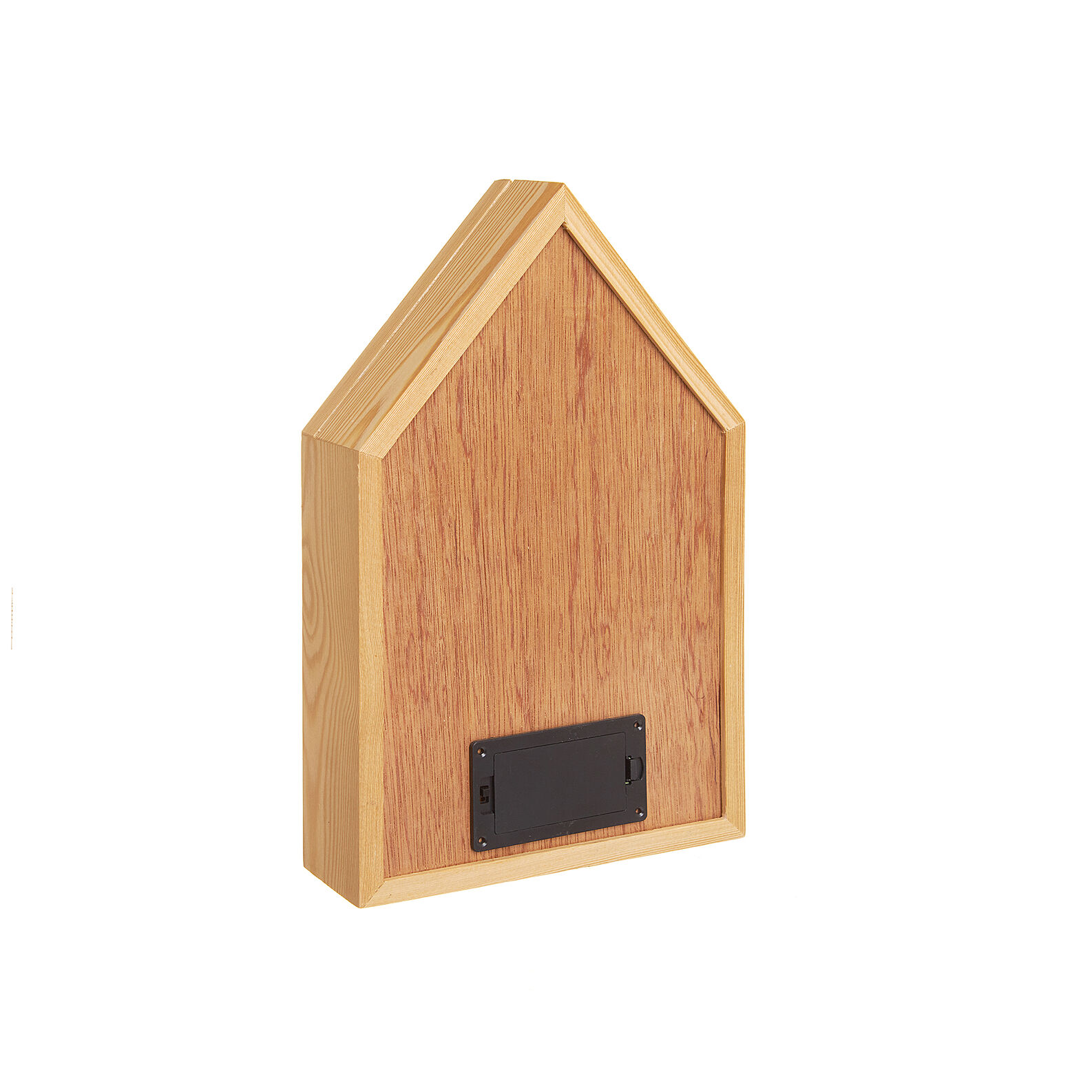 Light box casetta legno LED lettering Enjoy The Little Things