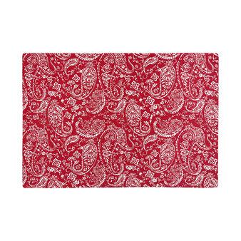 Tovaglietta puro cotone stampa paisley