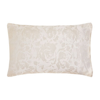 Portofino rose pillowcase in 100% cotton percale