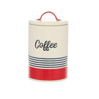 Barattolo ferro smaltato Coffee