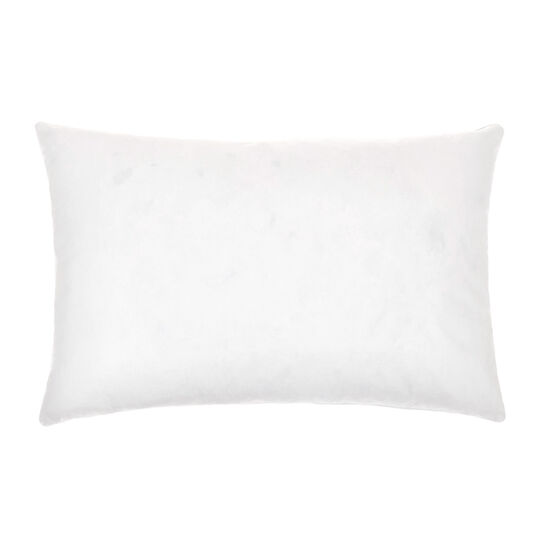 Pillow with feather padding