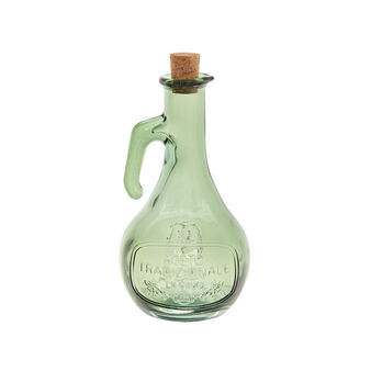Oil bottle in recycled glass