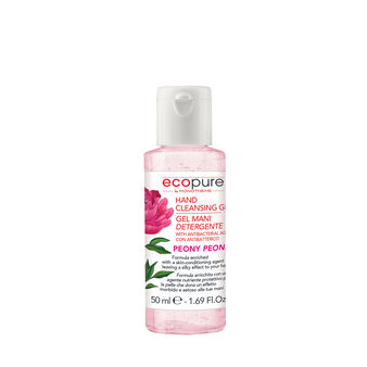 Ecopure peony hand gel by Monotheme 50ml