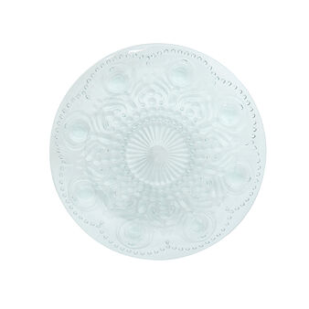 Detailed plastic dinner plate