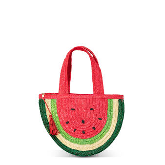Bag with watermelon shape