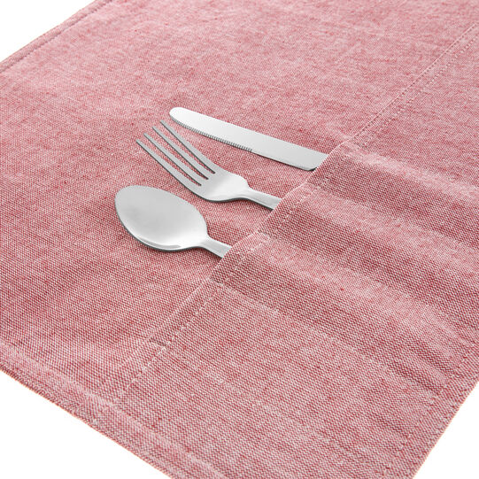 100% cotton table mat with print