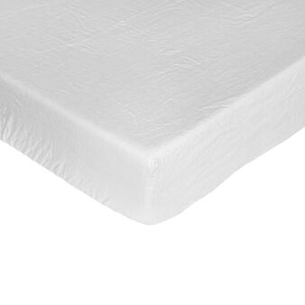 Sheet with corners in pure linen
