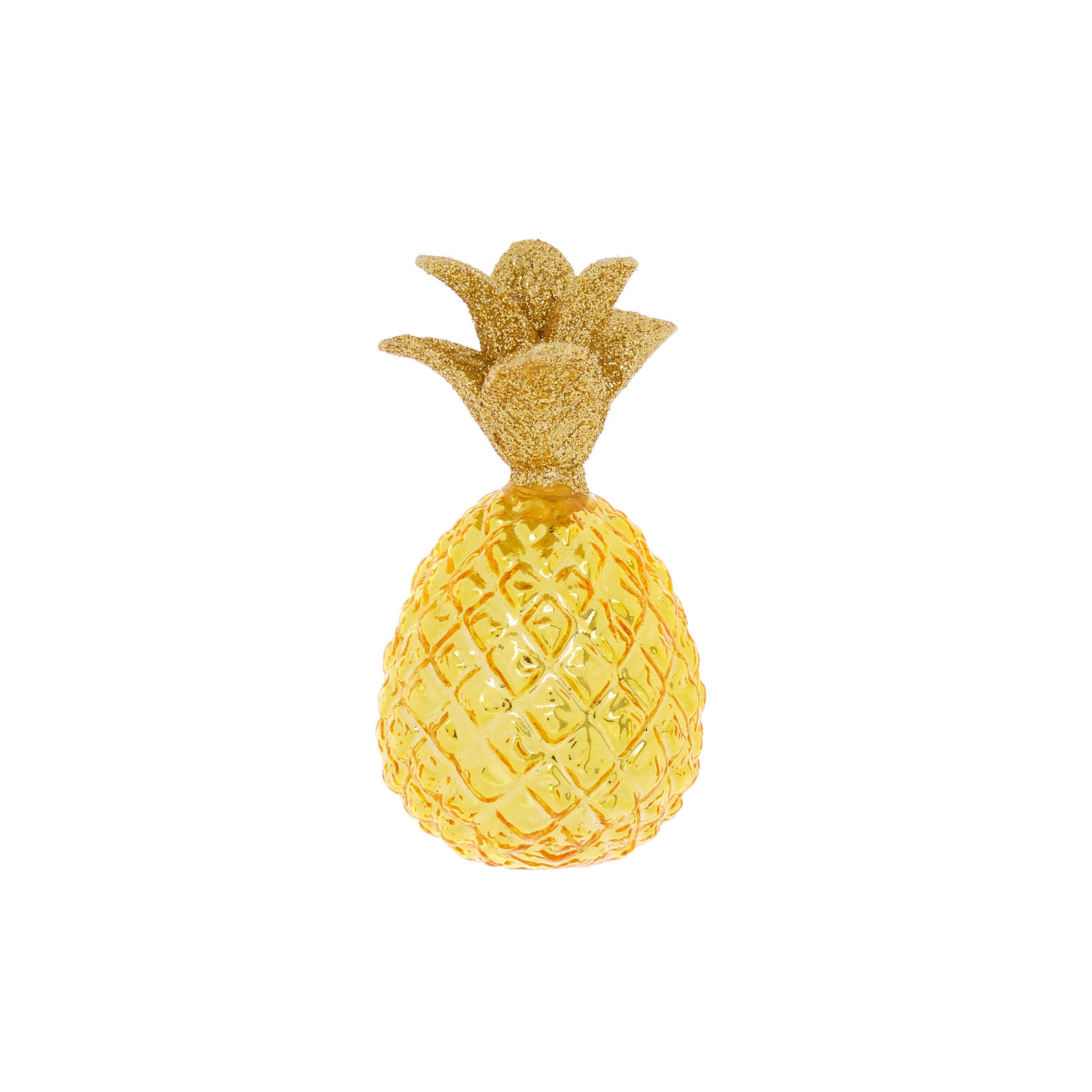 Hand-decorated pineapple decoration
