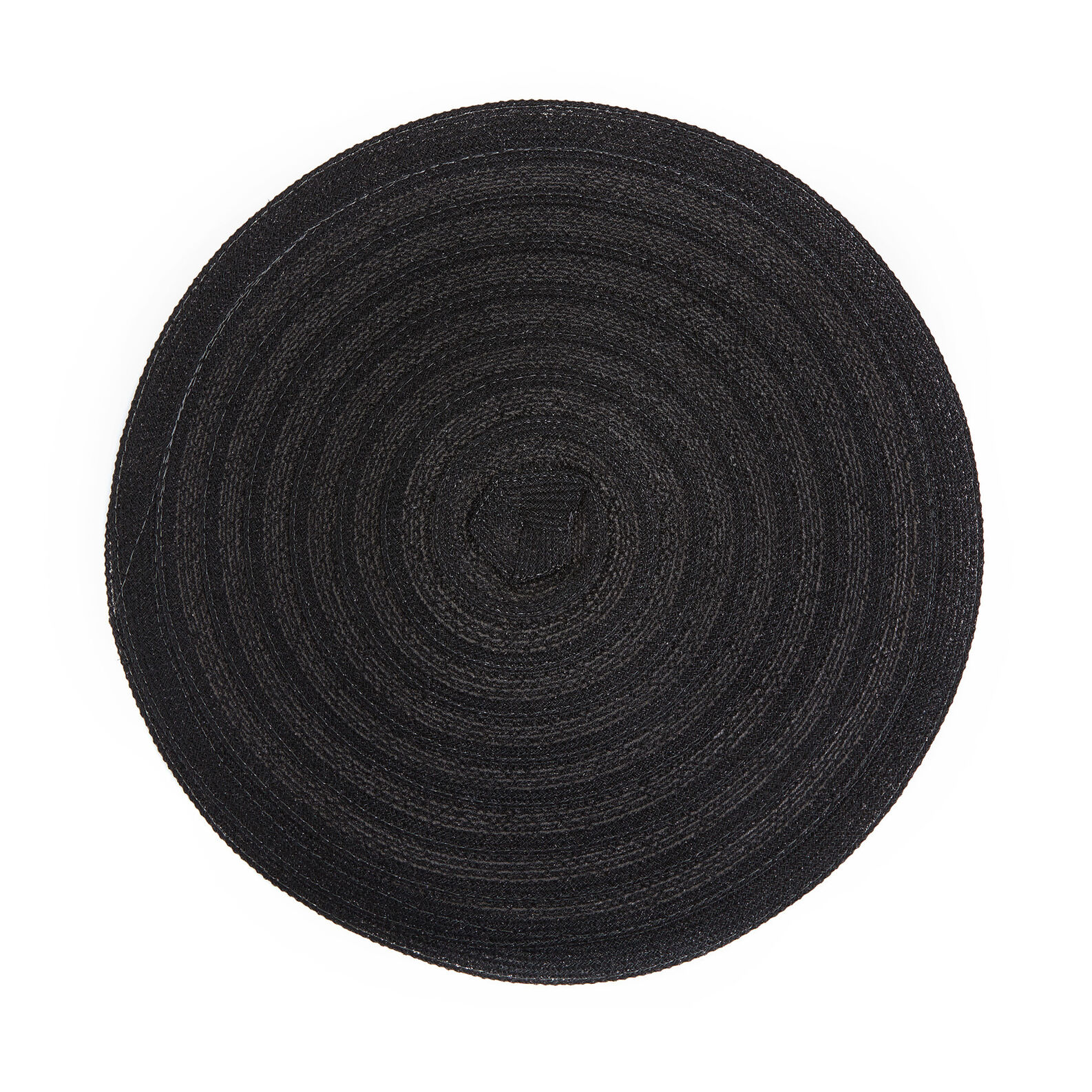 Table mat in woven plastic
