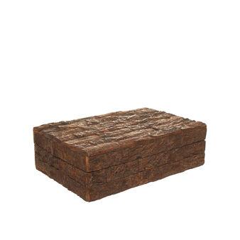 Box sughero effetto corteccia