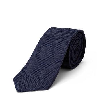 Cravatta pura seta tinta unita