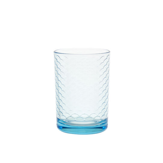 Drinking glass with Spring decoration
