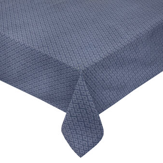100% cotton tablecloth with geometric print