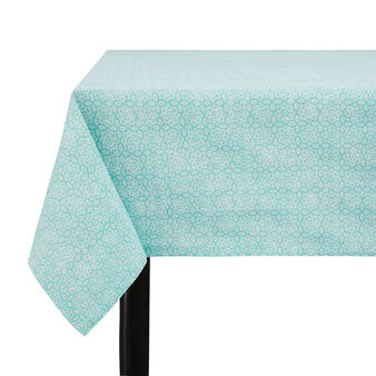 100% cotton tablecloth with micro pattern