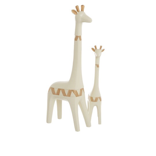 Hand-finished decorative giraffe