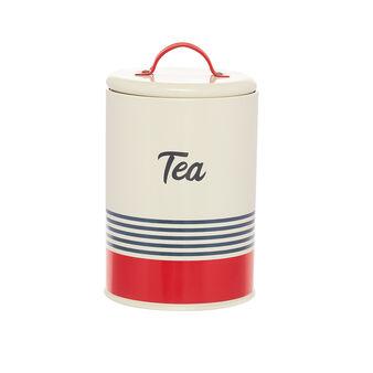 Barattolo ferro smaltato Tea