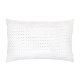 Hypoallergenic pillow with silver thread