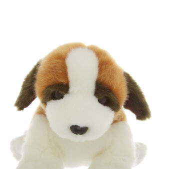 Saint Bernard dog soft toy