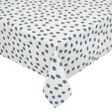 100% cotton tablecloth with eye print