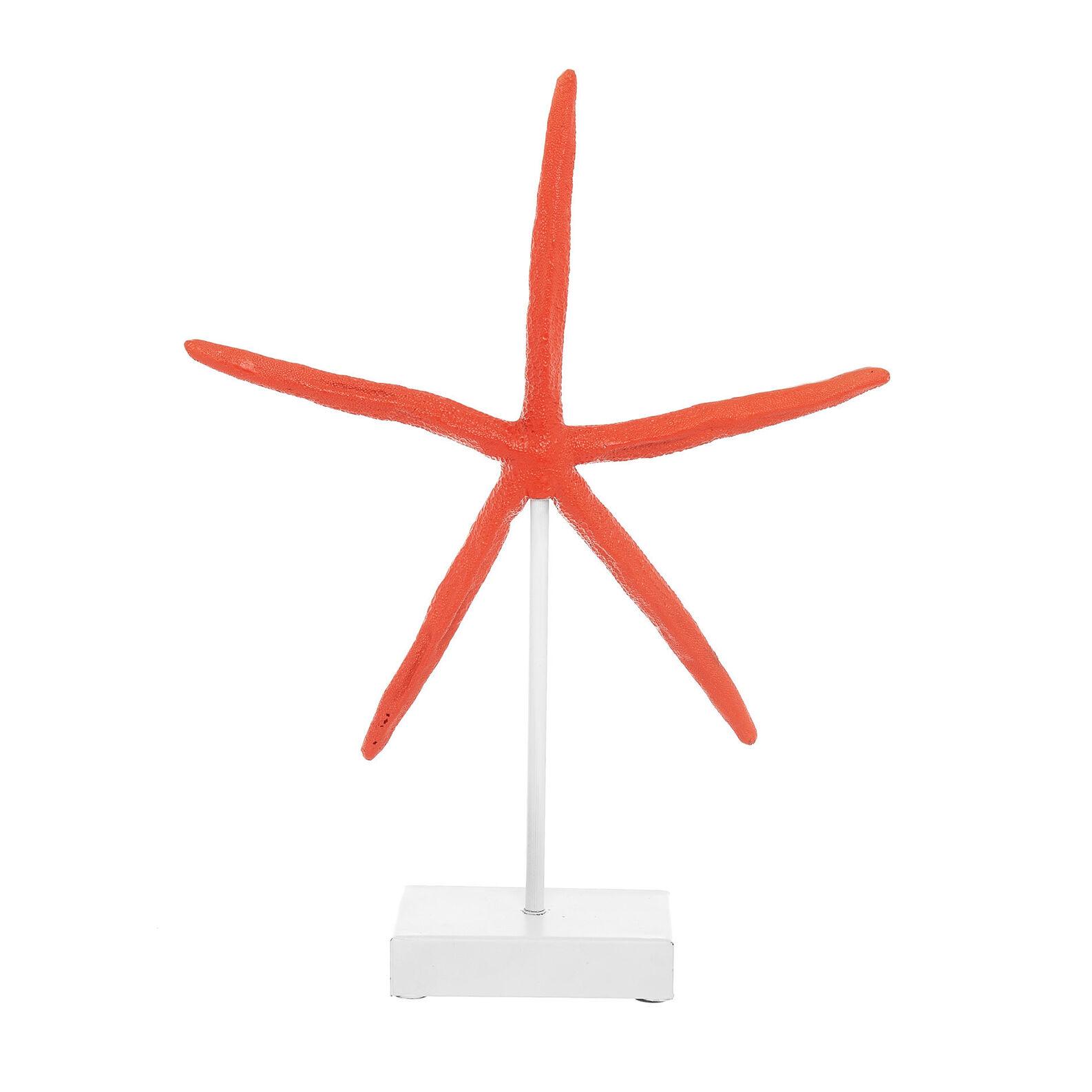 Hand-finished decorative starfish.