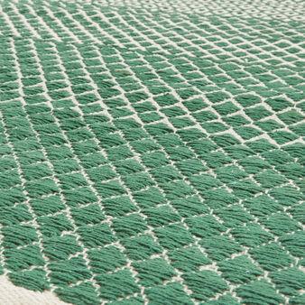 Tappeto da cucina puro cotone motivo geometrico