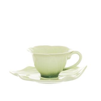 Porcelain flower teacup
