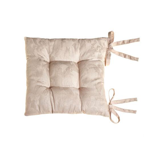 100% Egyptian cotton jacquard seat pad