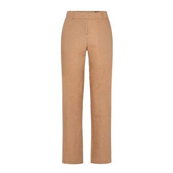 Pantalone classico in 100% lino con tasche Koan