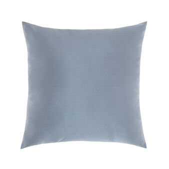 Solid colour shantung-effect cushion 45x45cm