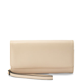 Koan saffiano-effect wallet