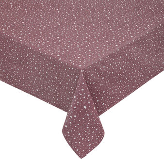 100% cotton tablecloth with stars print