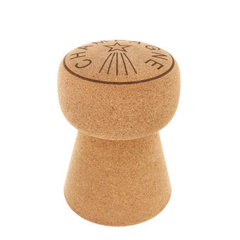 Portuguese natural cork stool