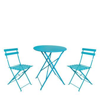 Set tavolo e due sedie Bistrot