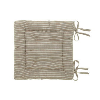 Striped seat pad