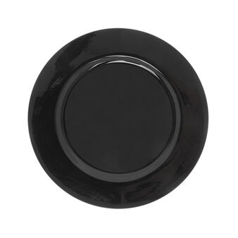Glossy plastic charger plate