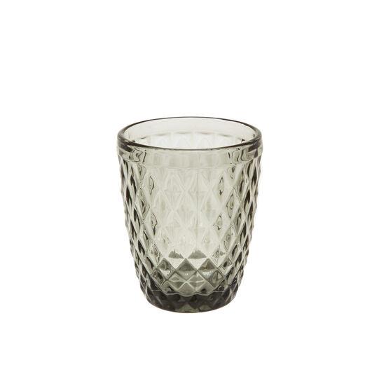 Cut drinking glass