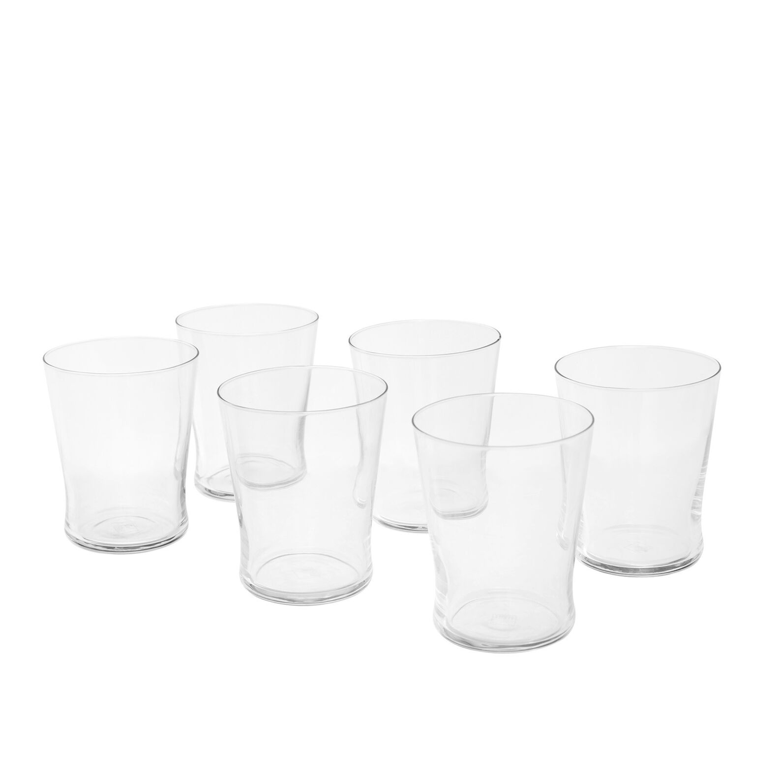 Set of 6 Conic water tumblers