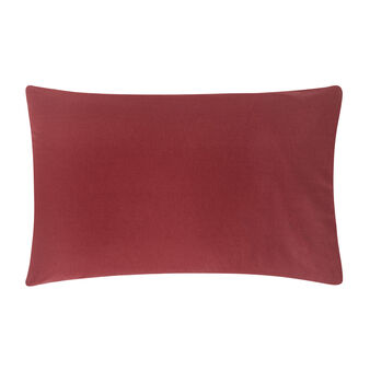 Pillowcase in solid colour 100% cotton.