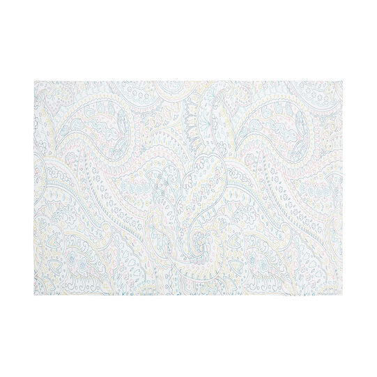 100% cotton towel with paisley print