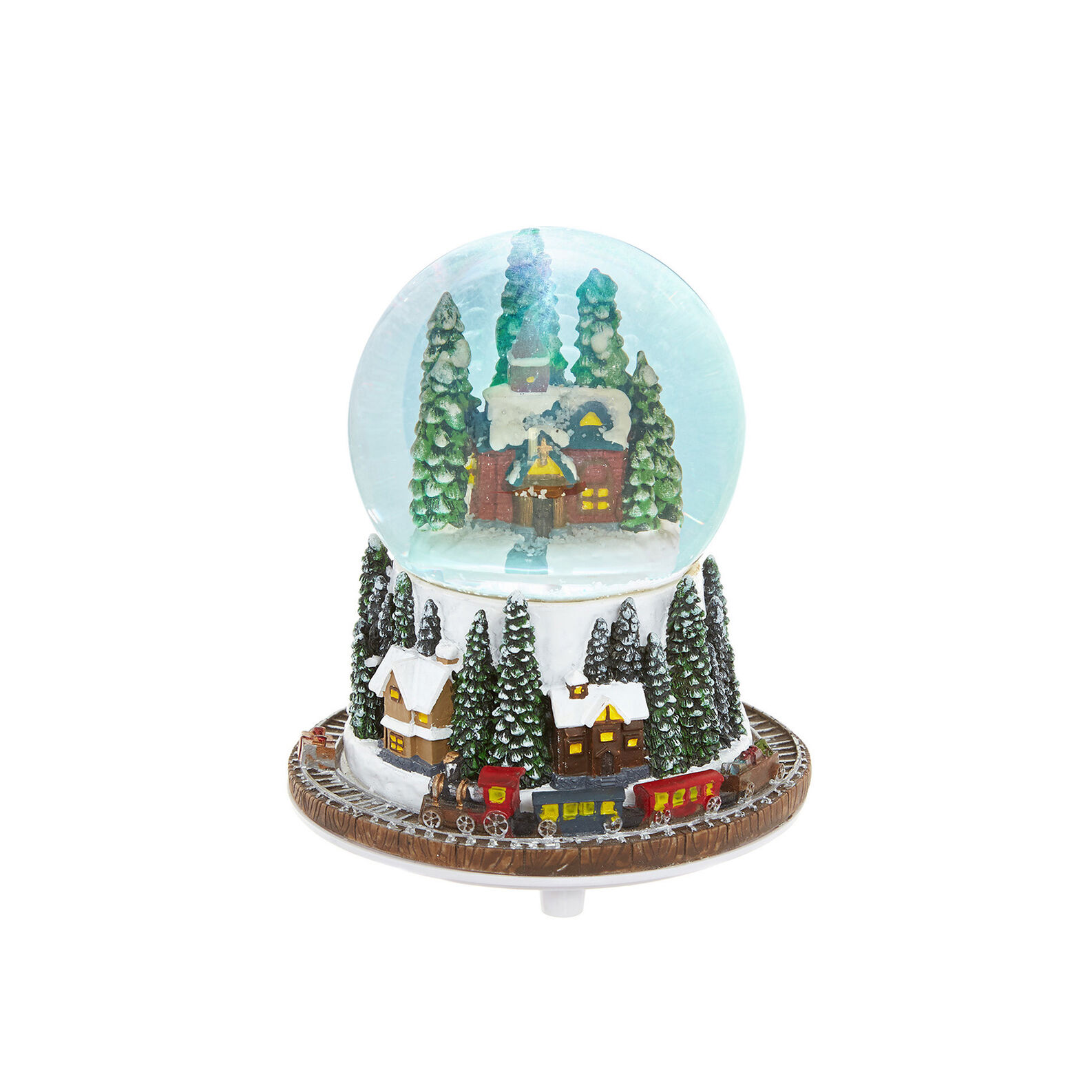 Hand-finished musical snow ball