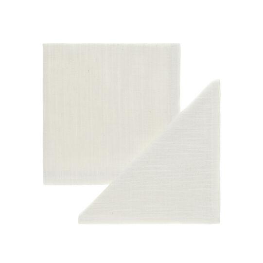 Pair of cotton slub napkins