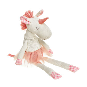 Ballerina unicorn soft toy