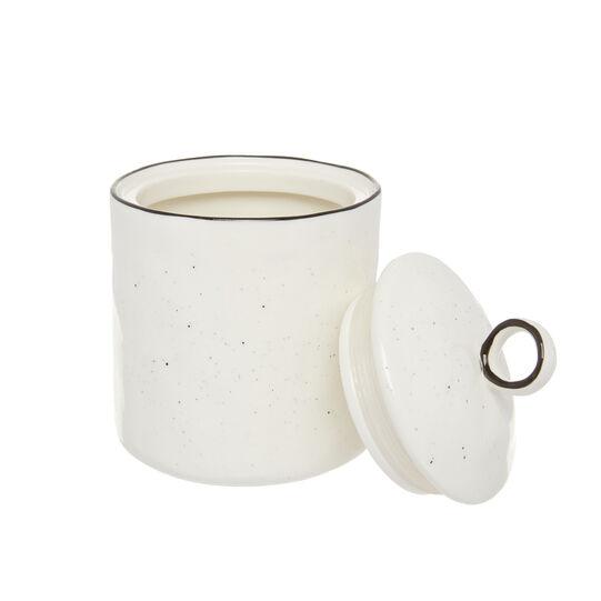 Ginevra porcelain jar