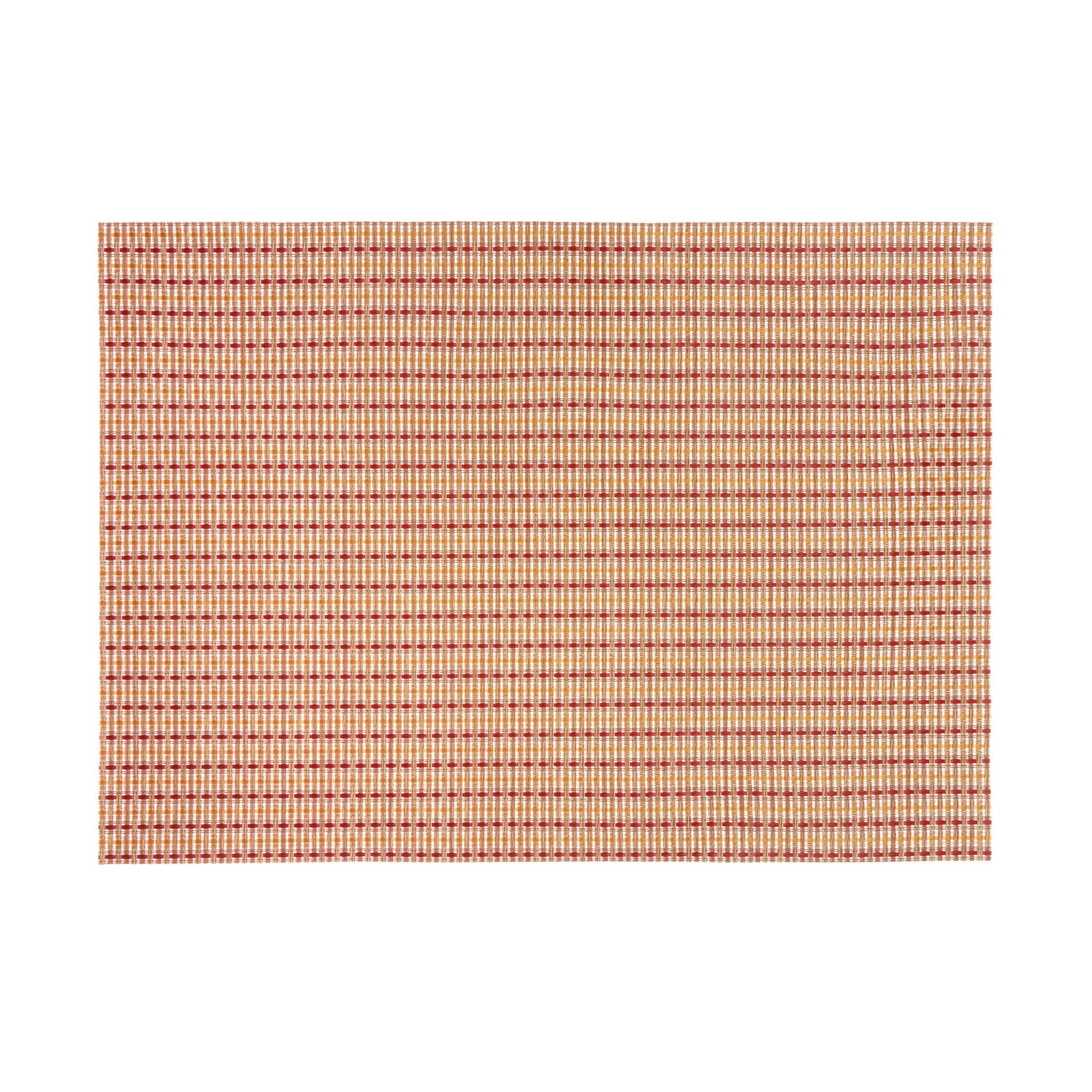 Two-tone rectangular table mat