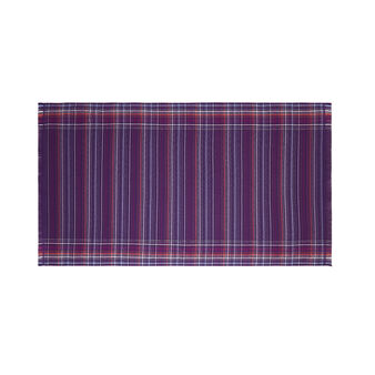 Yarn-dyed hammam beach towel in cotton with stripes