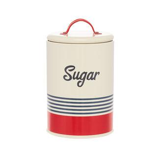 Barattolo ferro smaltato Sugar