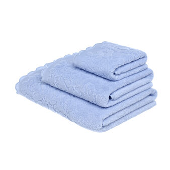 100% zero twist cotton towel