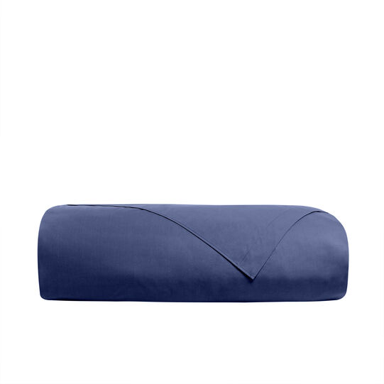 Solid colour flat sheet in 100% cotton