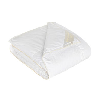 Duvet with feather padding