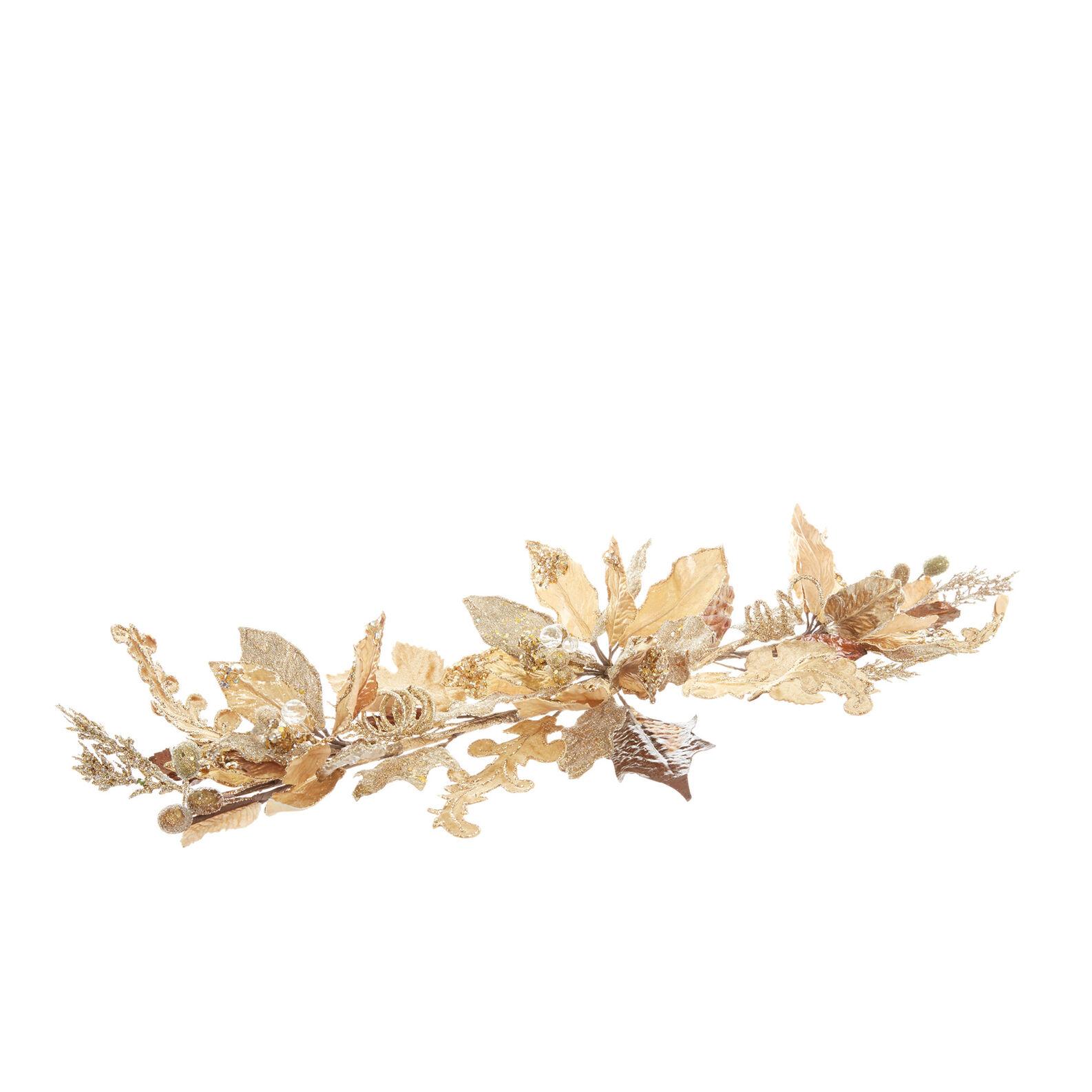 Tralcio fiori di magnolia decorato a mano